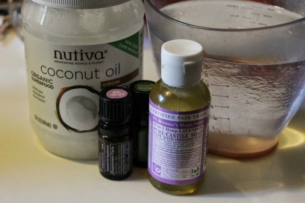 homemade shampoo ingredients