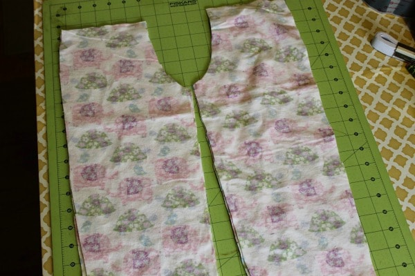 no pattern pajama pants tutorial 4 pieces