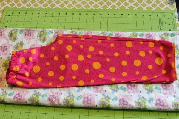 no pattern pajama pants tutorial trace