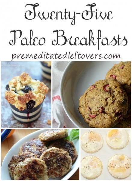 25 Paleo Breakfast Recipes