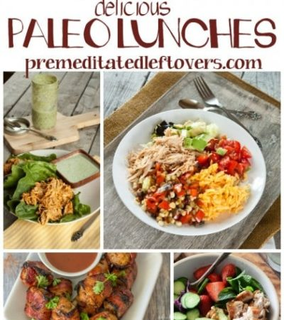 25 Paleo Lunch Recipes