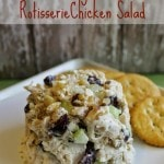 Cranberry Walnut Rotisserie Chicken Salad Recipe