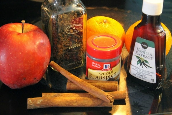 How to make a simmering potpourri - ingredients for simmering potpourri recipe