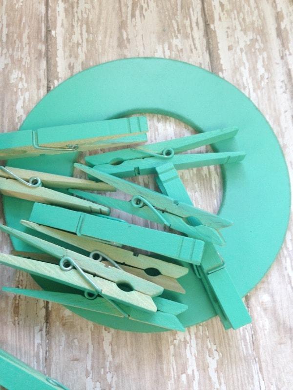clothespin tea holder tutorial