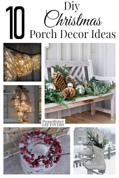 DIY Christmas Porch Decorating Ideas - Christmas porch decorating ideas