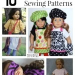 10 Free American Girl Doll Sewing Patterns