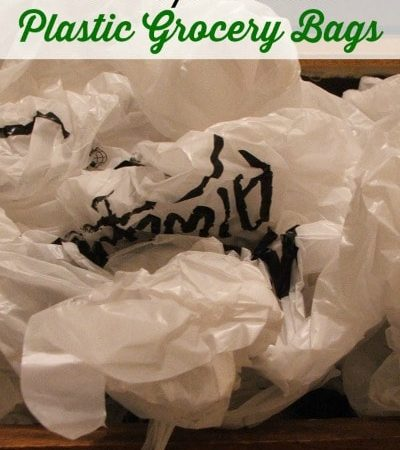 15 Ways to Reuse Plastic Grocery Bags