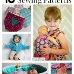 5 free baby doll sewing patterns