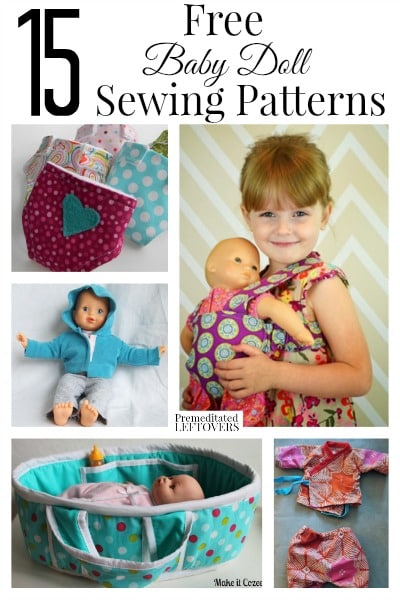 Pin Baby Doll Clothes Patterns Free on Pinterest