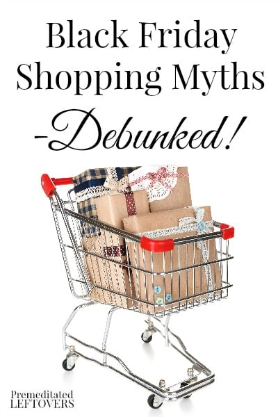 There are many myths about Black Friday, but you can still save money if you shop smart. Use these Black Friday shopping tips to shop wisely this year.