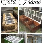 Frugal Ways to build a Cold Frame