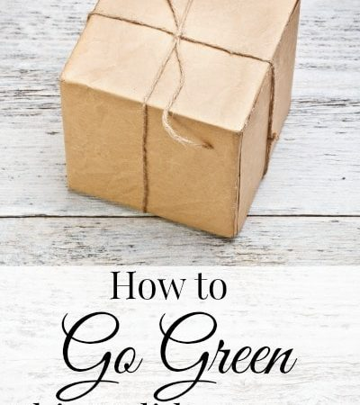 Eco-Friendly Holiday Tips: How to Go Green This Holiday Season- Here are ways that you can make this Christmas more eco-friendly and maybe save money too!