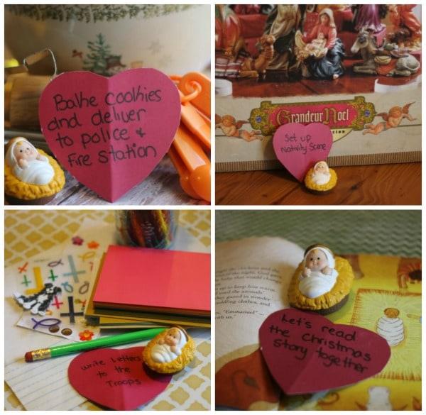 Heart of Christmas: A Christian Alternative to Elf on the Shelf. Looking for a Christian alternative to Elf on the Shelf? This will provide you with ideas!