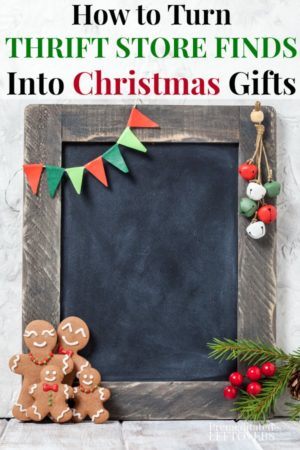 Thrift store Christmas gift ideas