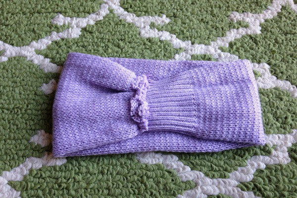 Recycled Sweater Ear Warmer