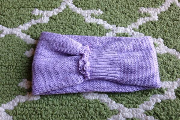 Recycled Sweater Ear Warmer