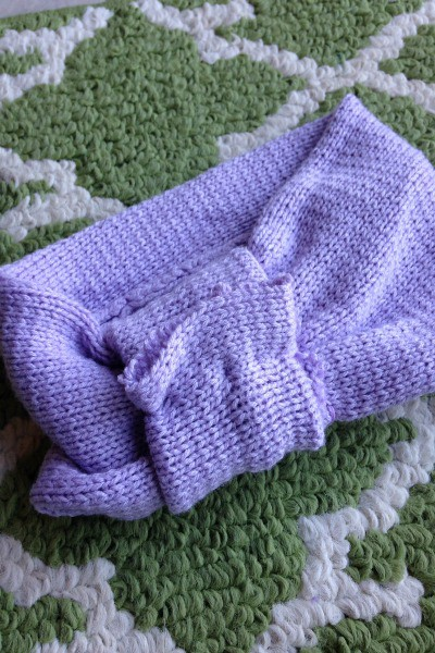 Recycled Upcycled Sweater Earwarmer