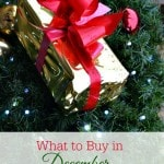 What to Buy in December