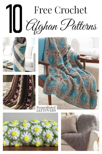 10 Free Crochet Afghan Patterns