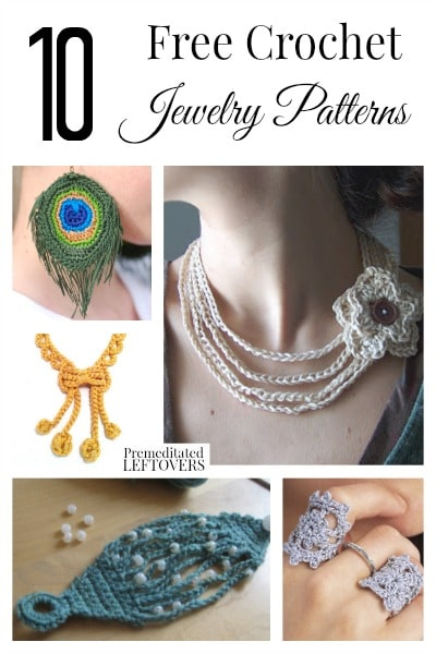 Crochet Patterns Free Jewelry : 10 Free Crochet Jewelry Patterns