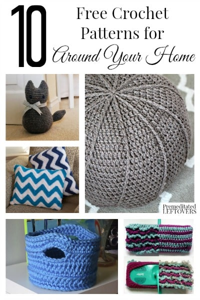 10 free home decor crochet patterns