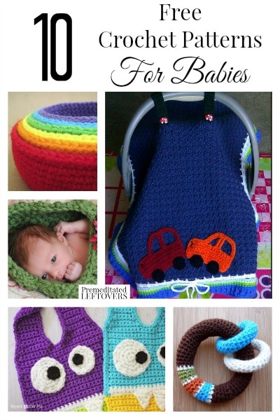 10 Free Crochet Patterns For Babies