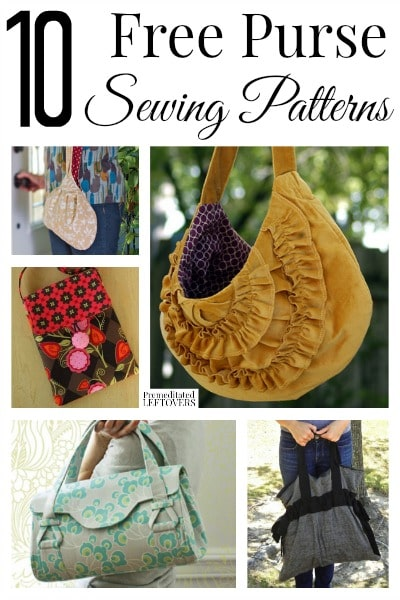 40 Free Purse Sewing Patterns Stunning Free Purse Patterns