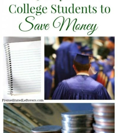 If you are a college student looking for ways to stay on budget and live better for less, take a look at these 25 ways for college students to save money.