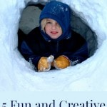 5 fun and creative snow activities for kids