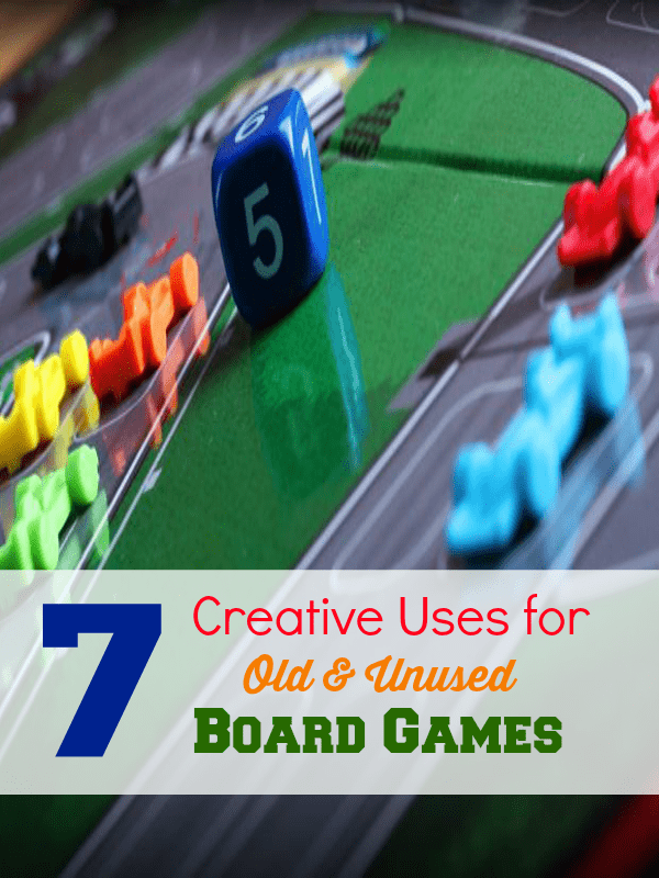 7 creative uses for old board games