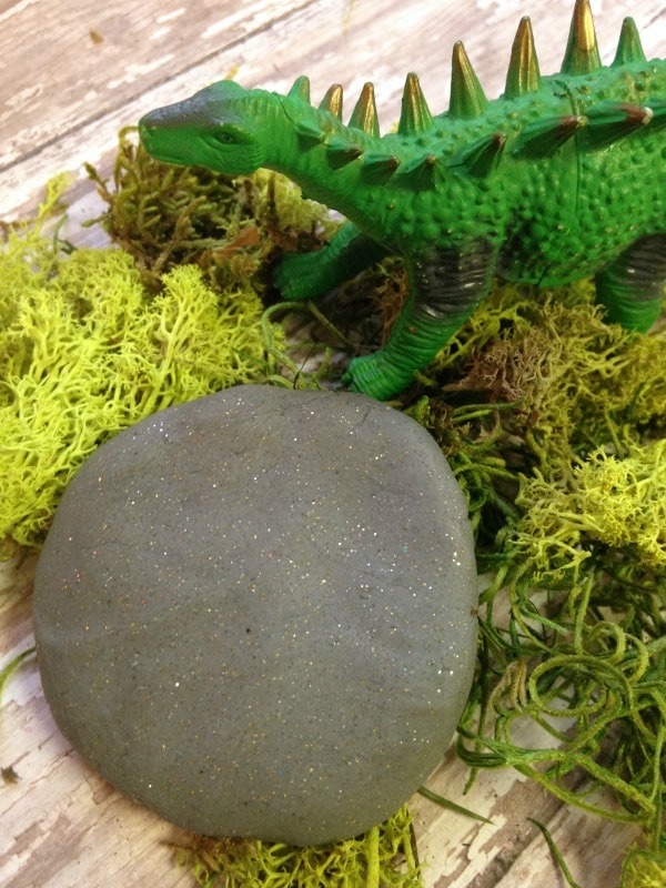 Dinosaur Fossil Play Dough Recipe