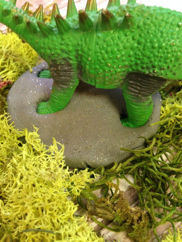 How to Make Dinosaur Fossil Play Dough