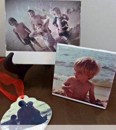 DIY Ceramic Photo Gifts