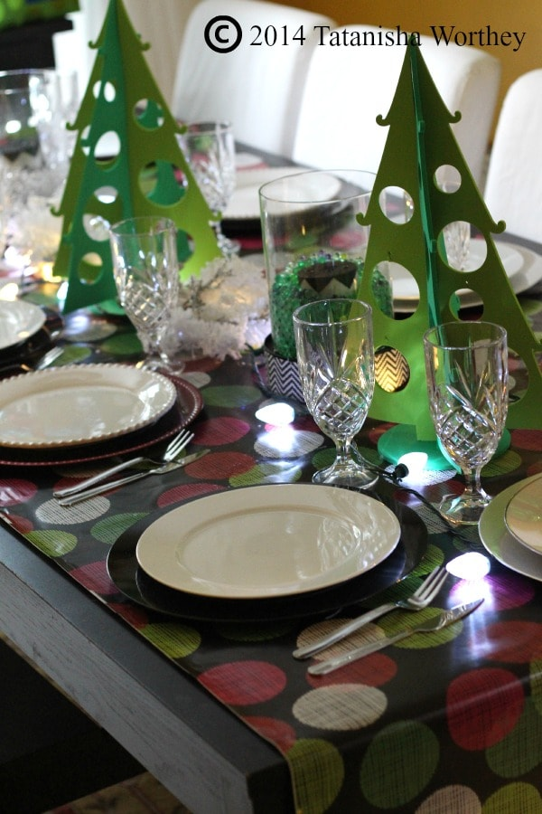 Stylish Christmas Table Setting That Doesn 39 T Break The Bank