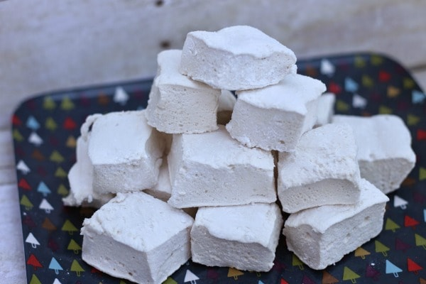homemade marshmallows are great in hot cocoa, for fondues, and on treat trays.