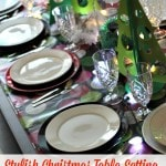 Stylish Christmas Table Setting That Doesn't Break The Bank