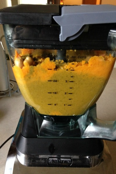 Sweet Potato Baby Food with Chickpeas and Spinach