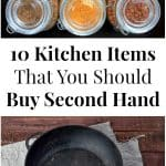 10 Kitchen Items That You Should Buy Secondhand
