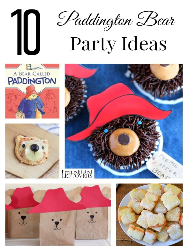 Paddington Bear Party Decorations