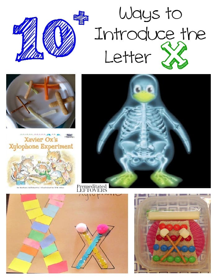 Are you stuck on activities to teach the letter X? Here are 10+ ways to introduce the letter X with crafts, food and activities!