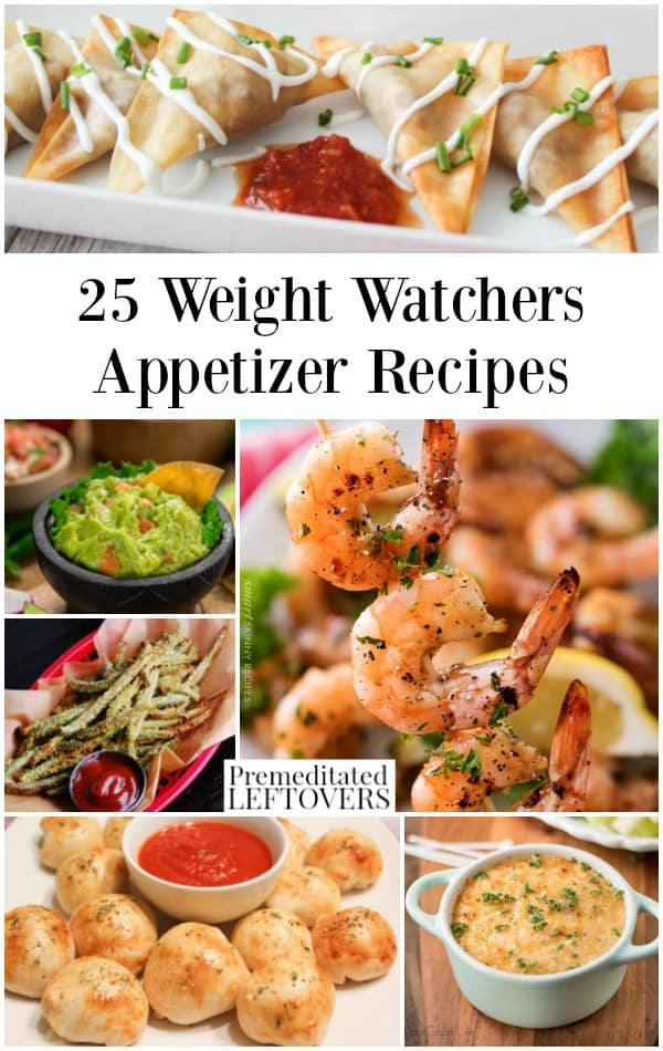Weight watchers appetizers recipes