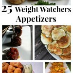 25 Weight Watchers Appetizers Recipes with points - A collection of delicious appetizer recipe ideas that are Weight Watchers friendly entertaining.