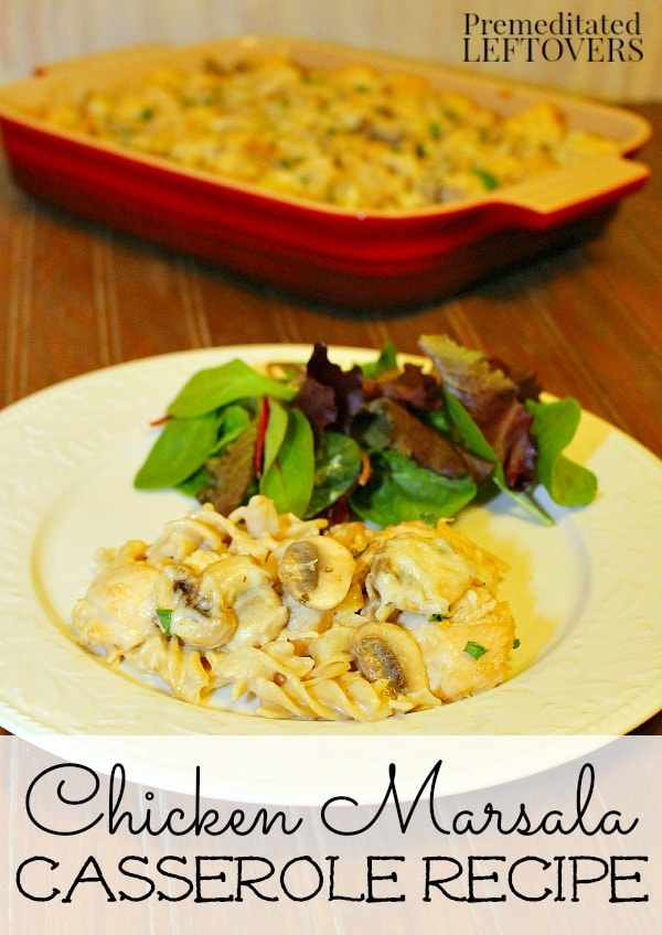 Easy Chicken Marsala Bake Recipe