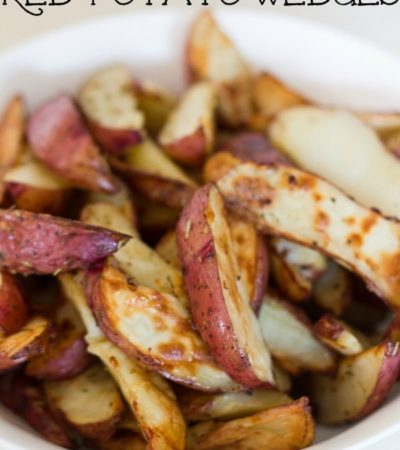Herb Roasted Red Potato Wedges Recipe