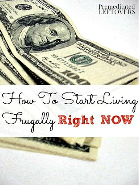 how to live frugally A better choice is living frugally, and that isn't as boring and unfulfilling as it  sounds being frugal doesn't necessarily mean pinching every penny and using.
