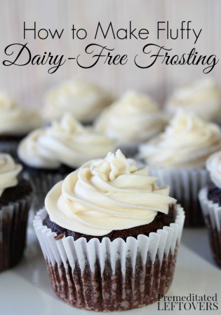 How To Make Fluffy Dairy Free Frosting Recipe And Tips