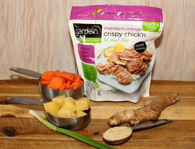 Vegetarian Orange Chicken Recipe