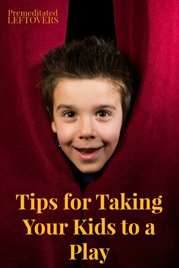 Taking your kids to plays can encourage them to develop a love for the arts. Try these Tips for Taking Your Kids to a Play to make it a great experience.