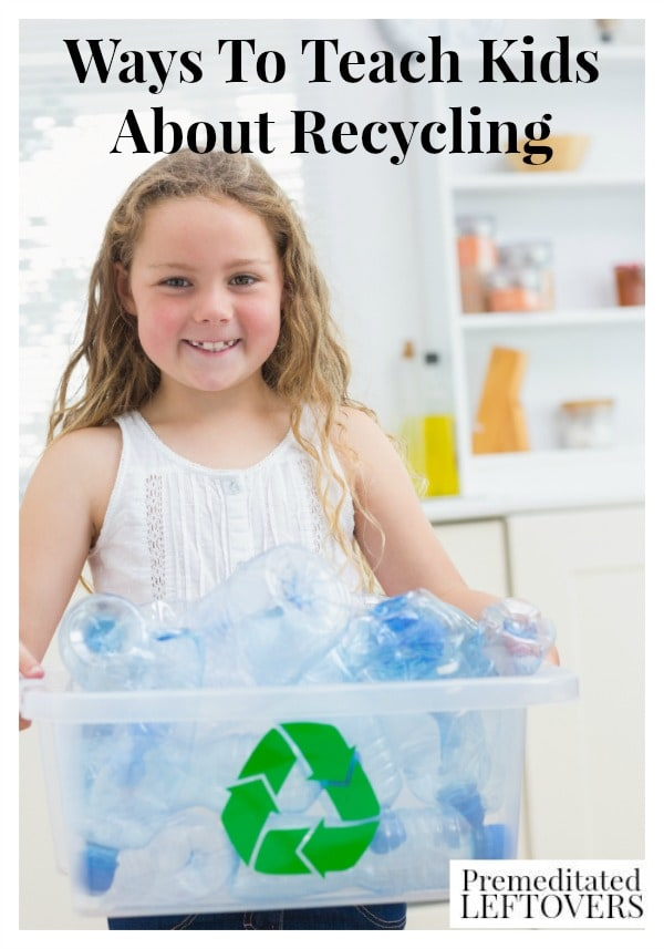 Here are some simple Ways To Teach Kids About Recycling to help you teach your kids how to be responsible for the world around them.