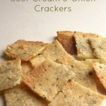 Sour Cream and Onion Crackers Recipe